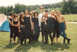 Wave-Gotik-Treffen 1993 Zeltplatz