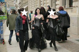 WGT 2009_mit Freunden in der Stadt