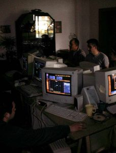 LAN-Party Anno 2000