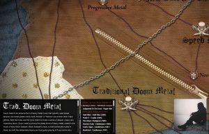 Doom Metal - Map of Metal