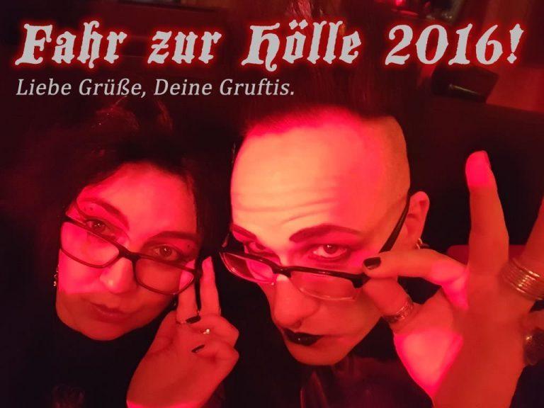 Gedanken zum Jahreswechsel: Fahr zur Hölle 2016!