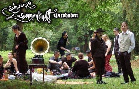 Schwarze Zusammenkunft Wiesbaden