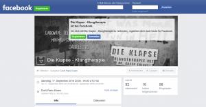 Facebook - Die Klapse