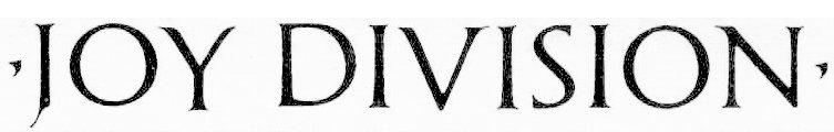 Joy Division Bandlogo