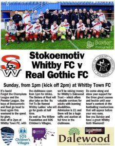 Stokoemotiv Whitby FC - Real Gothic FC
