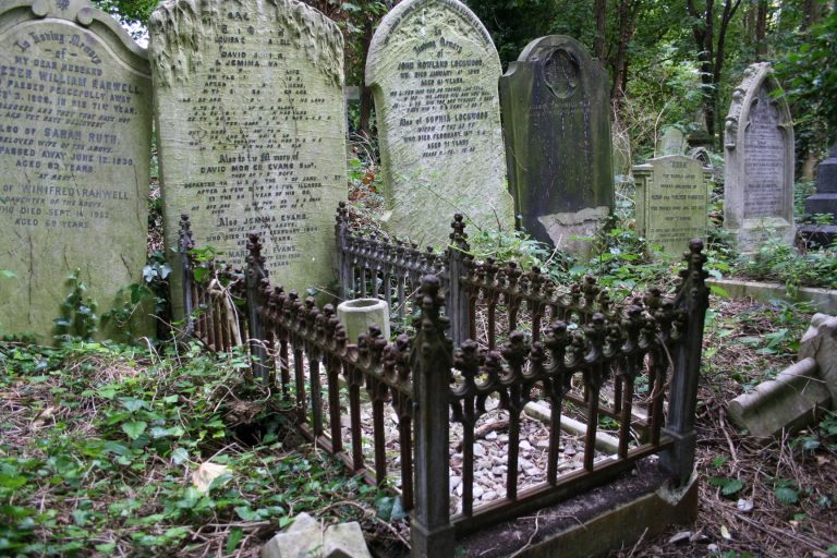 Historische Friedhöfe: Der Abney Park Cemetery in London (1840)