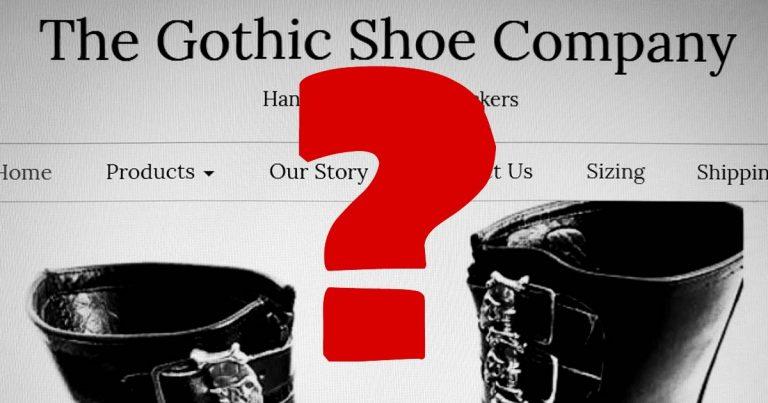 Gothic Shoe Company vor dem Aus? Gruftis warten seit Monaten auf ihre bestellten Pikes