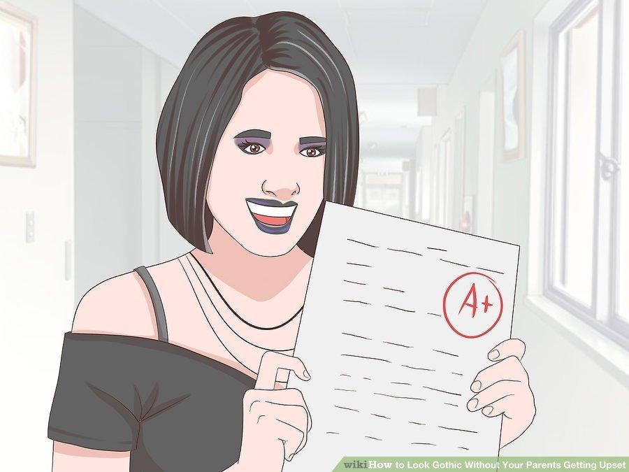 wikiHow - Gute Note für das gruftige Aussehen