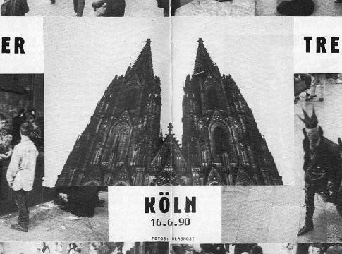 1990 - Domplattentreffen in Köln - Bericht im Glasnost Juli 1990 - Teaser