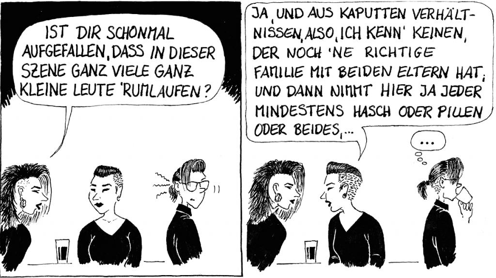 Comic Nicole Scheriau Teil 2
