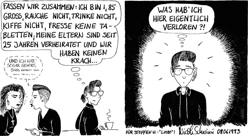 Comic Nicole Scheriau Teil 3
