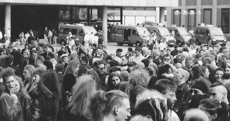 Video: Domplatten Treffen alias Schwarz/Bunt Treffen in Köln 1991