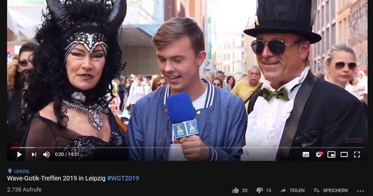 Video: Interviews in der Leipziger Innenstadt zum Wave-Gotik-Treffen 2019
