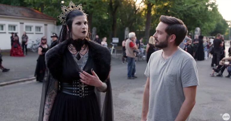 Der Jugendkanal Puls fragt: Was steckt hinter der Gothic-Szene?