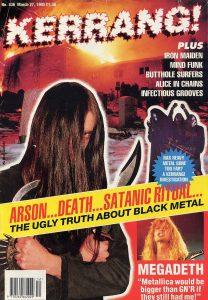 Kerrang March 1993