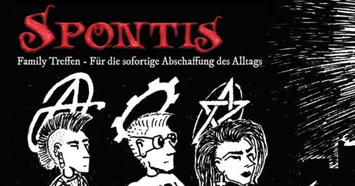 Spontis Magazin Cover