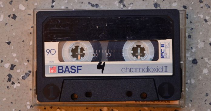 most mysterious song - Tape