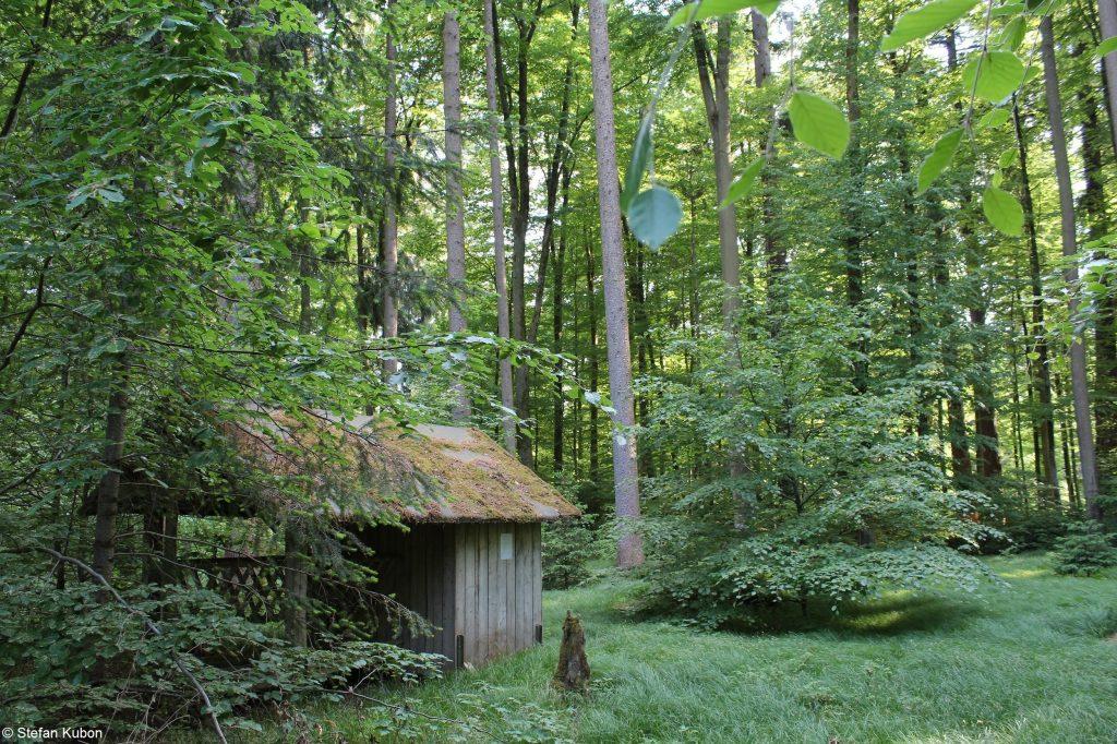 Naturpark Augsburg - Ein einsame Huette