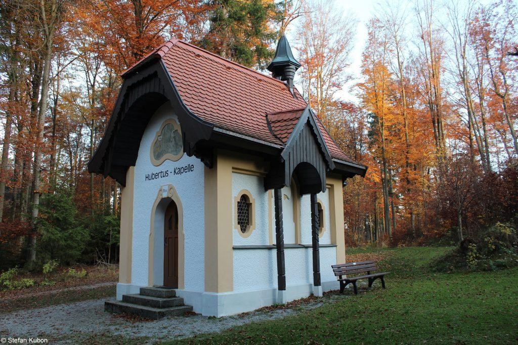 Naturpark Augsburg - Hubertuskapelle