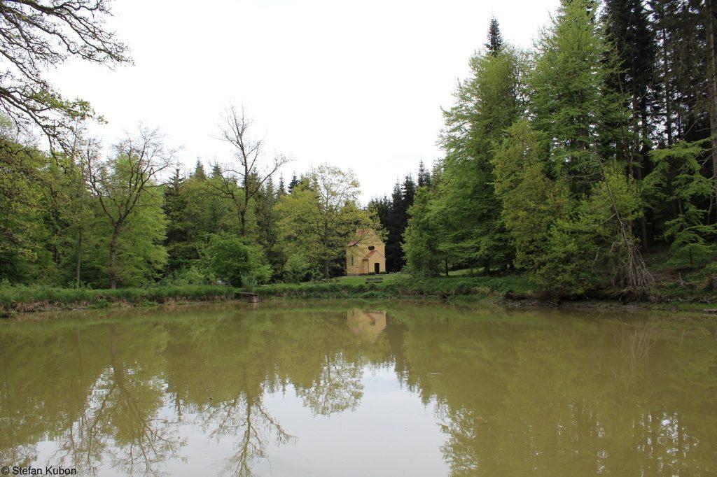 Naturpark Augsburg - See bei Lichtung