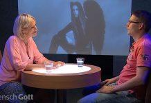 MenschGott - Screenshot von der Sendung mit Jonathan