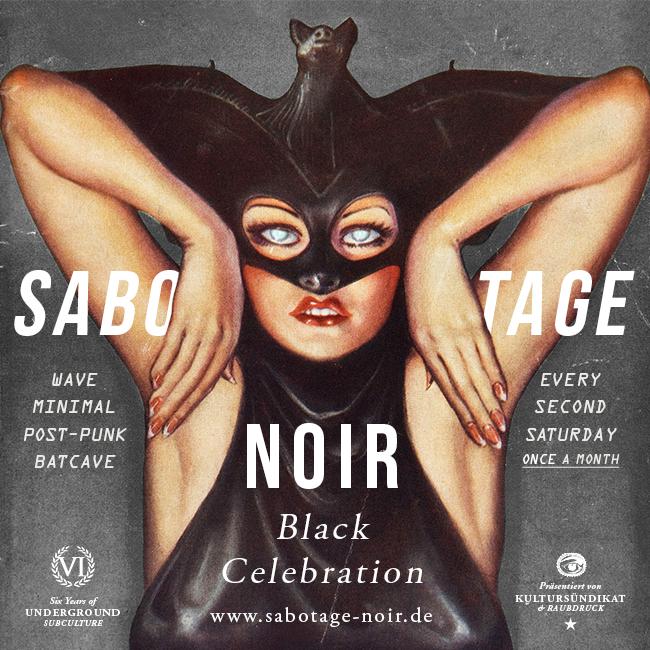 Sabotage Noir Flyer