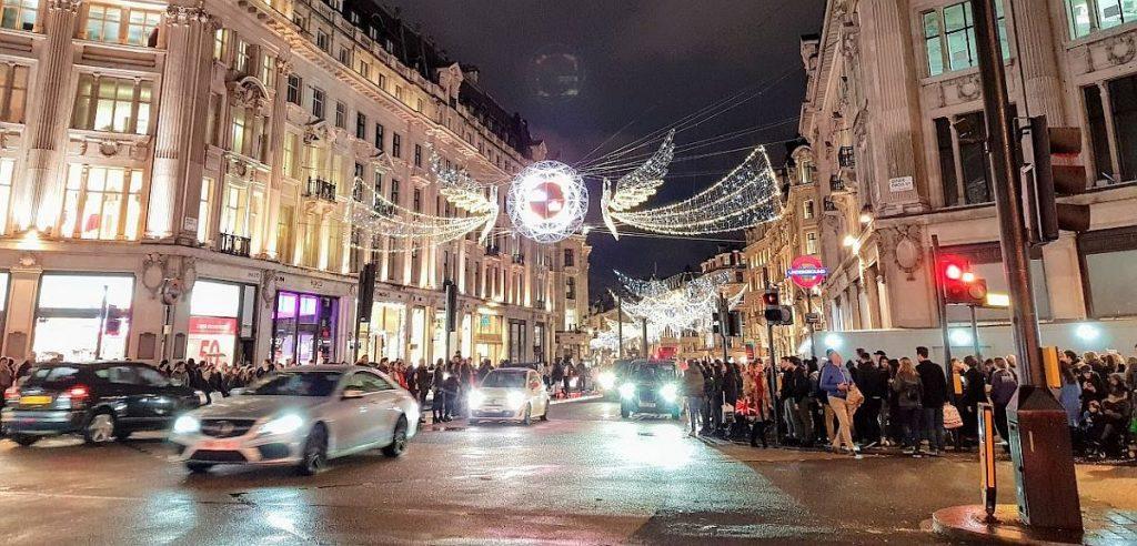 Weihnachten in London - Oxford Street
