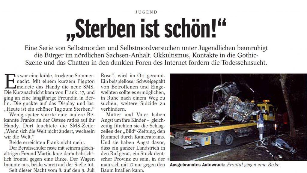 Spiegel Artikel 51-2000 Auszug