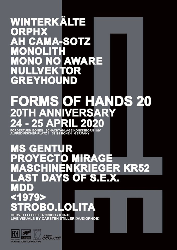 Forms of Hands 2020