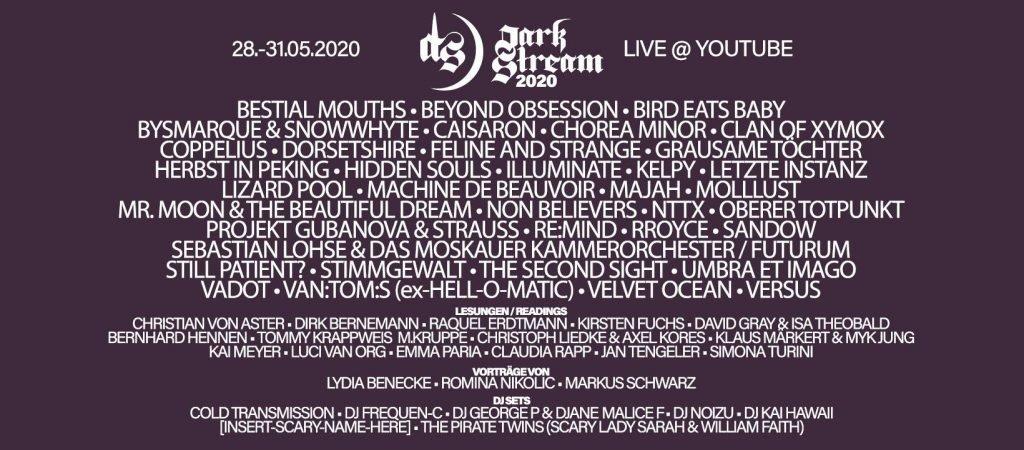 DarkStream Festival LineUp