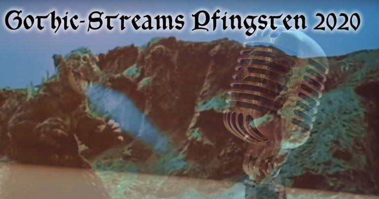 Pfingsten: DarkStream Festival, Gothic Pogo Festival und Online Musik Festival (Programmupdate!)