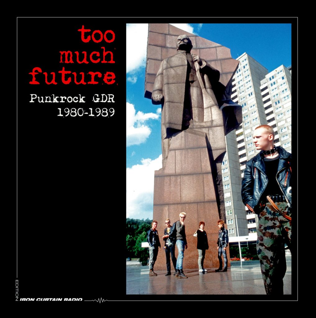 Too much future . Cover des Samplers