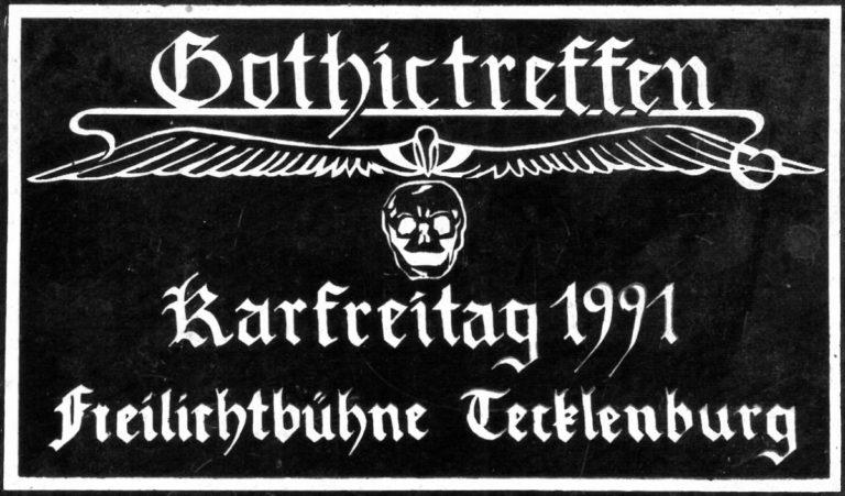 Gothic-Treffen Tecklenburg 1991 – Nostalgischer Rückblick mit Organisatorin Sandra