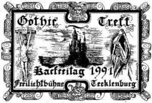 Flyer vom Treffen in Tecklenburg 1991