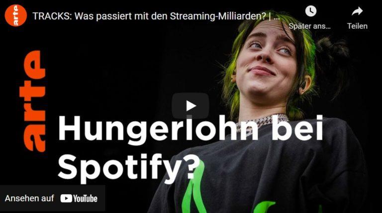 arte TRACKS: Was passiert mit den Streaming Milliarden?